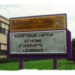 Ditching the laptops